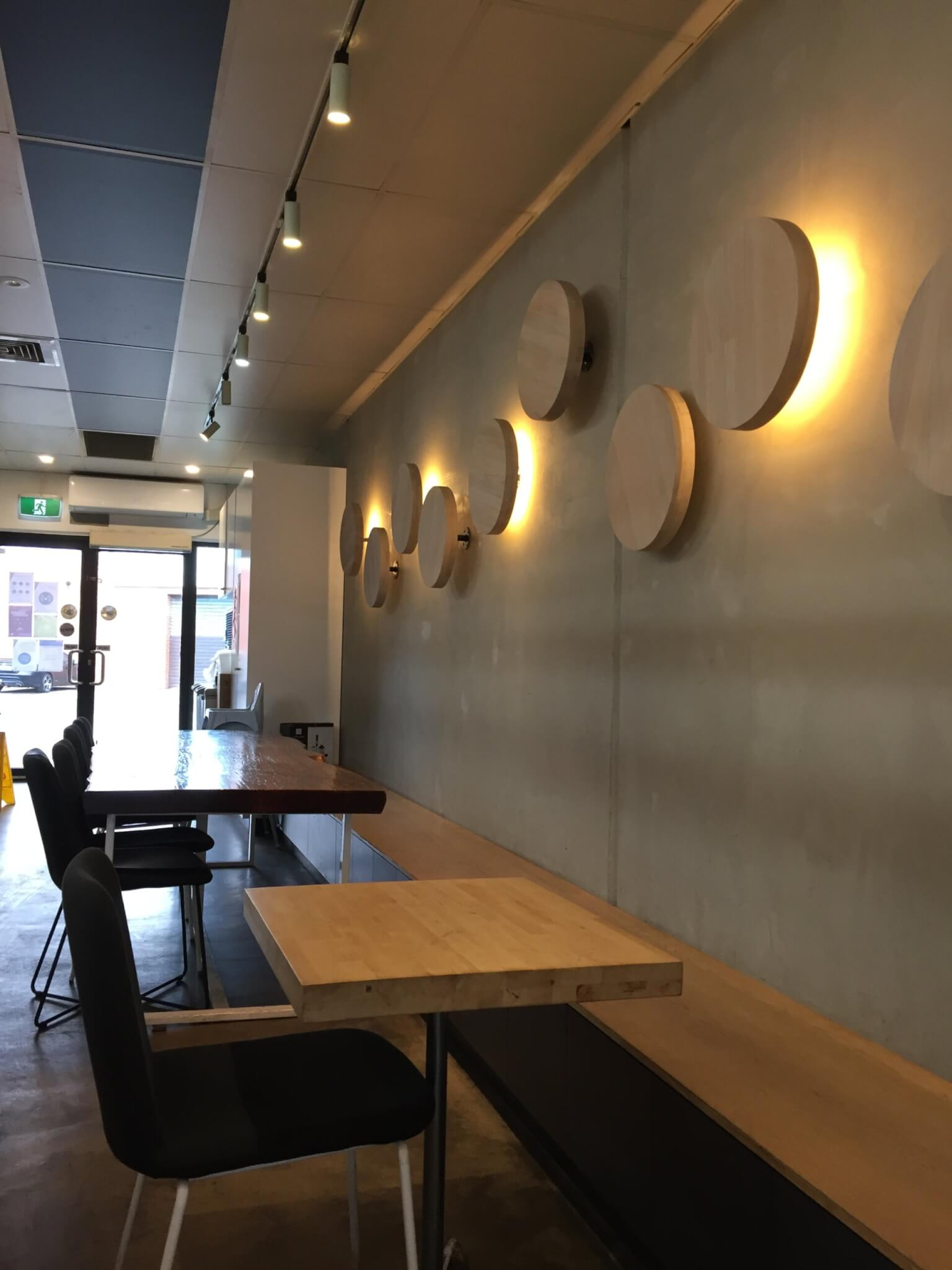 Mumchan Korean Restaurant seating area